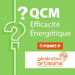 QCM EFFICACITE ENERGETIQUE candidat libre